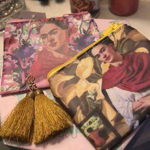 Frida Khalo Coin Purses